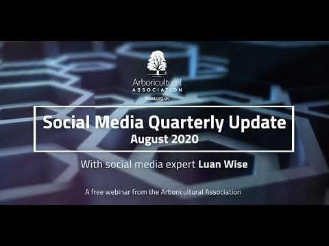 Webinar: Social Media Update (with Luan Wise)