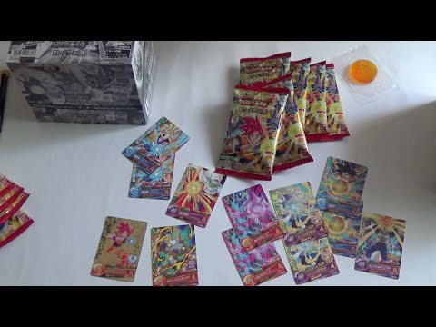 Dragon Ball Heroes Gummy Candy Part 20 Unboxing de 3 cajas!! GDPBC6 Box Full Set