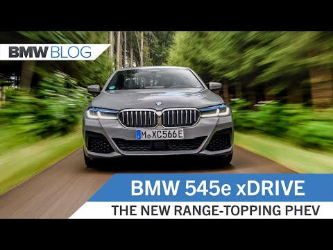 BMW 545e xDrive - The Best Plug-in Hybrid Sedan On The Market?