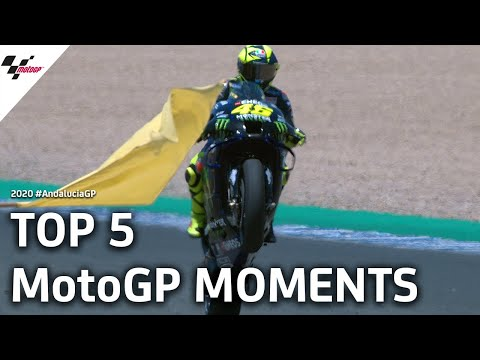 Top 5 MotoGP moments from the #AndaluciaGP