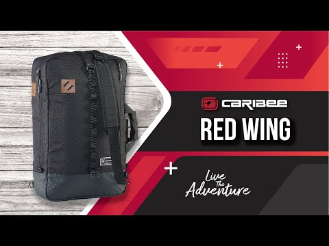 Сумка дорожная Caribee Red Wing Cabin 38 Black