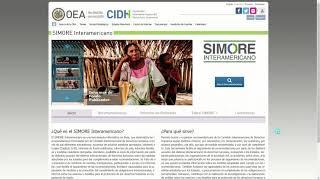 Creación y activación de cuenta en el SIMORE Interamericano