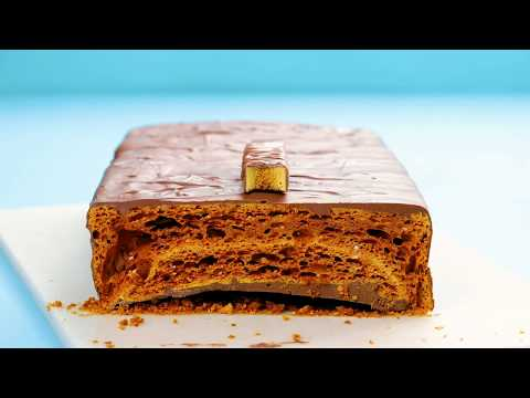 How to Make a Giant Crunchie Bar | Tastemade UK