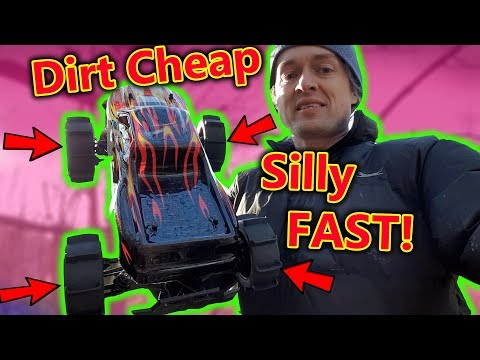 This Dirt Cheap RC Car Can Drive ON Water and is FAST! - UCH2_Jj8m4Zbe26UMlGG_LVA
