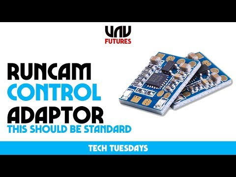 GET PERFECT FPV CAMERA SETTINGS using your RADIO? Runcam Camera Control Adaptor Tech Tuesday - UC3ioIOr3tH6Yz8qzr418R-g