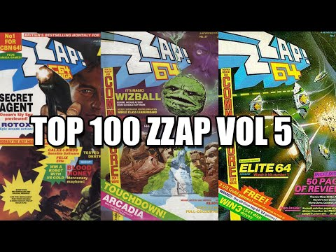 TOP 100 ZZAP64 COMMODORE VOL 5
