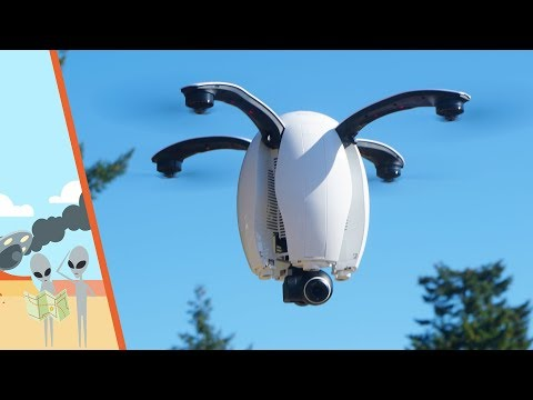 PowerEgg Drone Flight Testing - UC7he88s5y9vM3VlRriggs7A