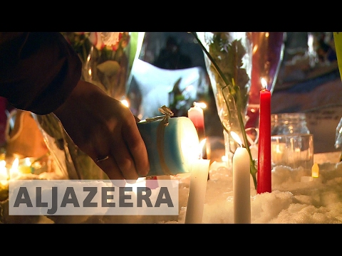 Vigil held for victims of Quebec mosque shooting