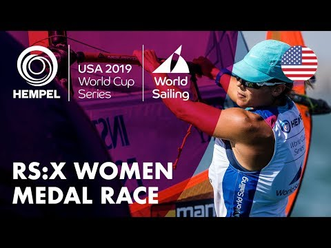 RS:X Women Medal Race | Hempel World Cup Series: Miami, USA