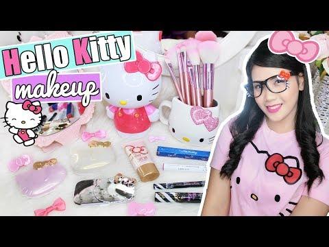 Hello kitty makeup
