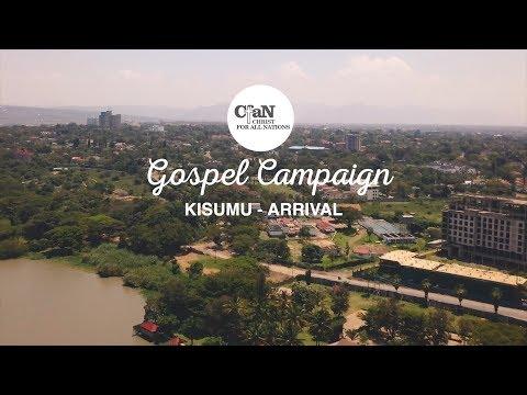 Kisumu, Kenya Crusade - Arrival Recap