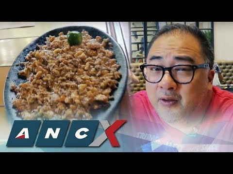 ANCX: In Search of Manila's Best Sisig