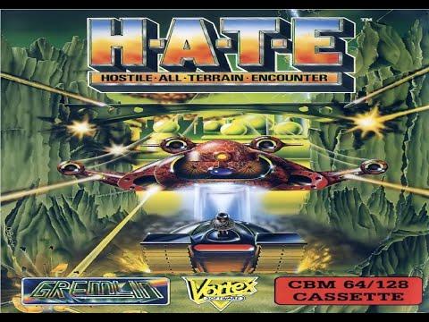 H.A.T.E.: Hostile All Terrain Encounterpa (Commodore 64) - Review de RETROJuegos por Fabio Didone