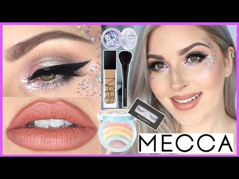 Glitter Festival Makeup Tutorial ??MAKEUP CHALLENGE WITH #MECCALAND