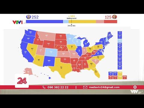 Hơn 97 triệu cử tri Mỹ đã đi bỏ phiếu sớm | VTV24