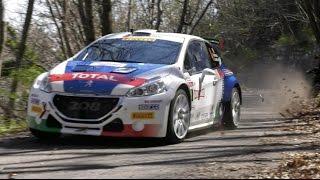 Sanremo Rallye 2017: Peugeot 208 T16 e Paolo Andreucci  – Shakedown