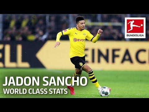 Jadon Sancho - World-Class Stats Like Messi, De Bruyne & Co.