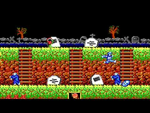 Ghosts 'n Goblins (Pacific Dataworks International) (MS-DOS) [1987]