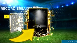 I GOT 95+ OVR RECORD BREAKER IN FIFA MOBILE!!! BEST PACK OPENING! - RECORD BREAKERS