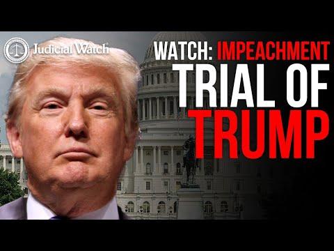 LIVE: Impeachment Trial of Donald Trump