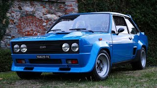 Fiat 131 Abarth Rally – Davide Cironi Drive Experience (ENG.SUBS)