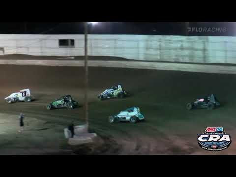 AMSOIL USAC CRA Sprint Car Highlights   Arizona Speedway   Hall of Fame Classic   10/2/2021 - dirt track racing video image