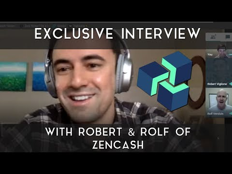 Exclusive ZenCash Interview | w/ Robert & Rolf