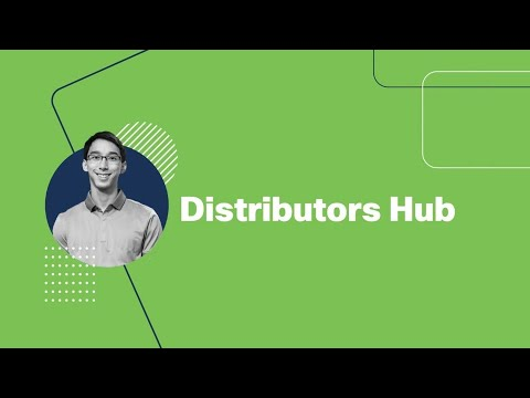 Visit our new Distributors Hub!