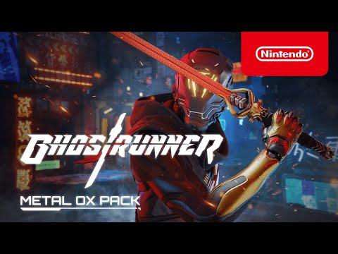 Ghostrunner - Le pack Buffle de métal est disponible !