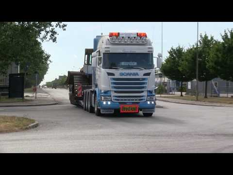 Scania V8 Trucks Today  (4) R580, R480, Wide Load