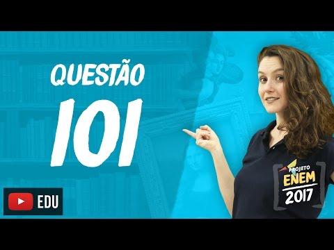 Enem 2016: Questão101(CadernoRosa)