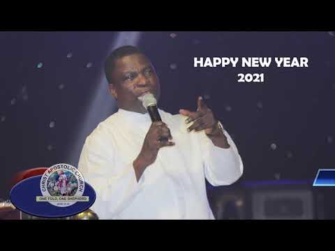 THE GENERAL EVANGELIST OF C.A.C WORLDWIDE IS WISHING EVERYONE A PROSPEROUS NEW YEAR AHEAD.