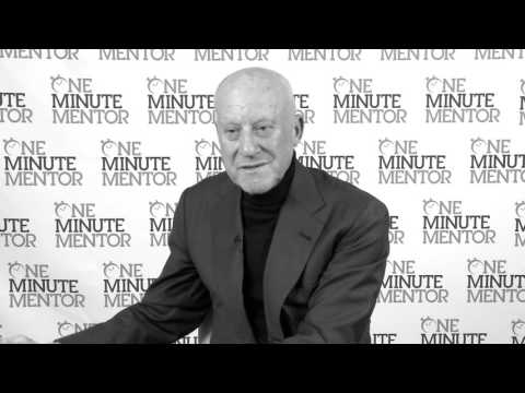 Hearst One Minute Mentor: Norman Foster on Innovation