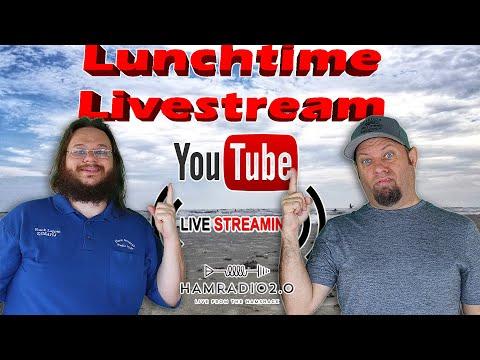 Lunchtime Livestream for January 6 - Ham Radio Livestream