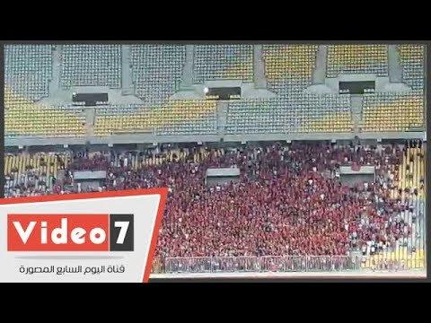 """جماهير الأهلي تشعل حماس اللاعبين بـ""""الثالثة شمال"""