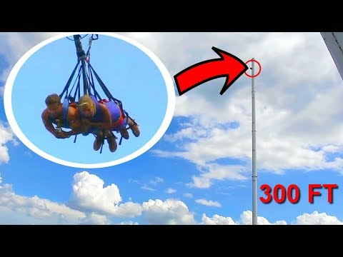 WORLD'S TALLEST SWING! *Over 300 feet*