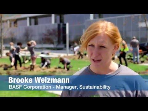 Earth Day 2016 - Planting a pollinator garden