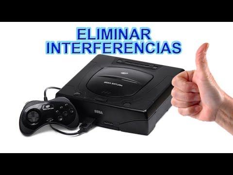 ELIMINAR INTERFERENCIAS IMAGEN SEGA SATURN