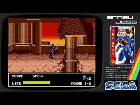 MAZIN SAGA: Mutant Fighter SEGA Mega Drive