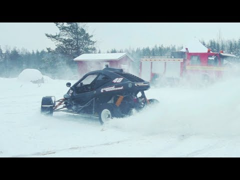 Flat Out in Finland! Ice Racing with Valtteri Bottas!