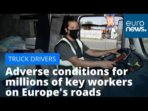 Truck driver woes: Adverse conditions for millions of key workers on Europe's roads photo
