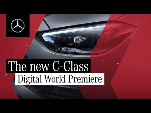 Digital World Premiere of the new C-Class Sedan and Wagon