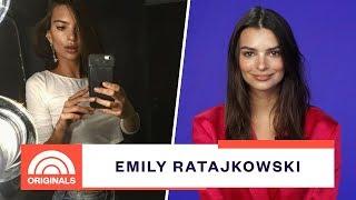 Emily Ratajkowski  On Ignoring Mean Instagram Comments | TODAY Originals