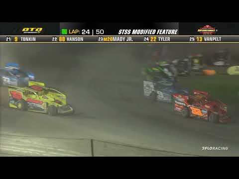 Short Track Super Series (10/9/21) at Afton Motorsports Park - dirt track racing video image