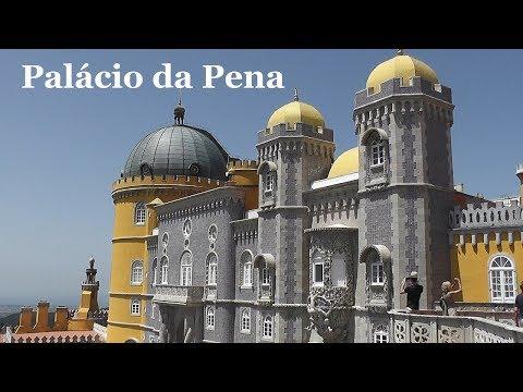 PORTUGAL: Pena Palace - Sintra [HD]