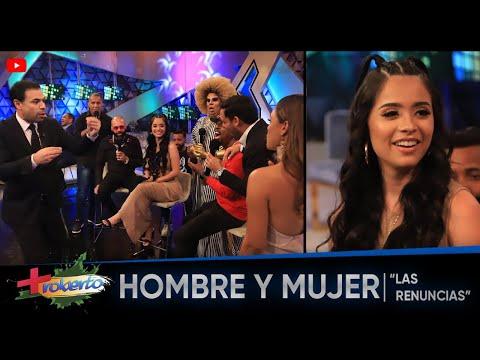 """""""Las Renuncias"""" Hombre y Mujer ► MAS ROBERTO"""
