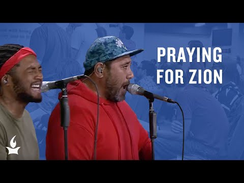 Praying for Zion (spontaneous) -- The Prayer Room Live Moment