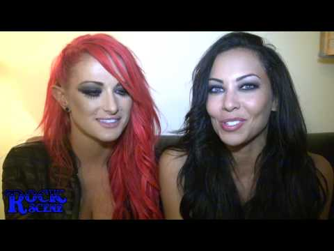 "THE BUTCHER BABIES  Heidi & Carla    Talk about Their ""ROCK SCENE"" - UCcwQDxelFfh03v3bImFikaQ"