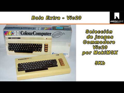 Bola Extra - Juegos 5 Kb Commodore Vic20 con MakiMSX