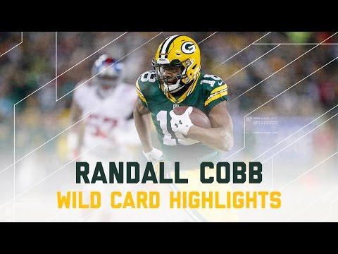 Randall Cobb 116 Yards & 3 TDs! | Giants vs. Packers | NFL Wild Card Player Highlights